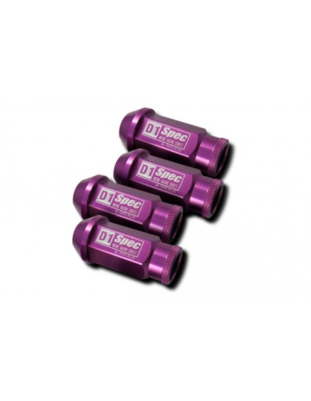 TUZAL2X50PURPLE      -PACK 20 TUERCAS ALUMINIO  RACING 12X150 PURPURA
